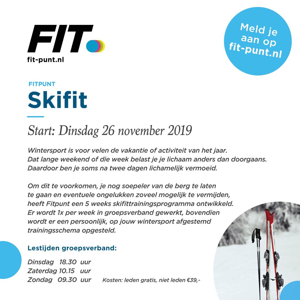 Skifit 2019 Fitpunt Hengelo