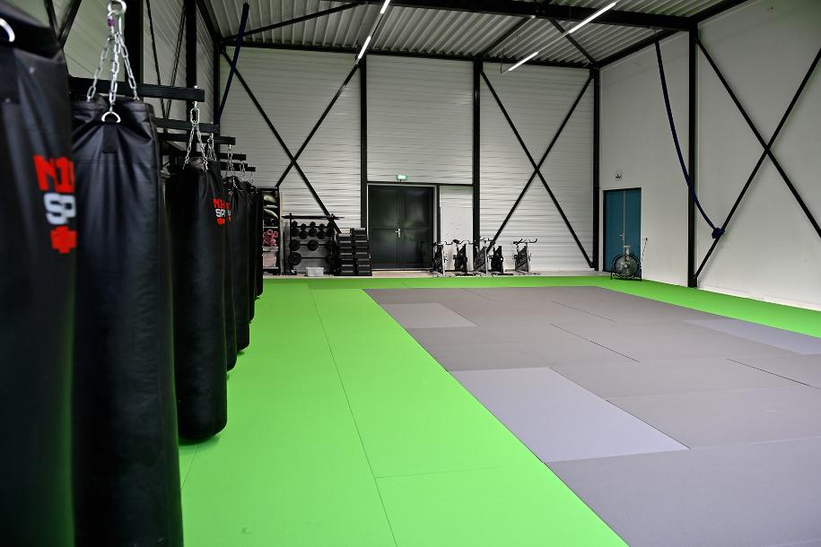 bokszak- en kickbokstraining