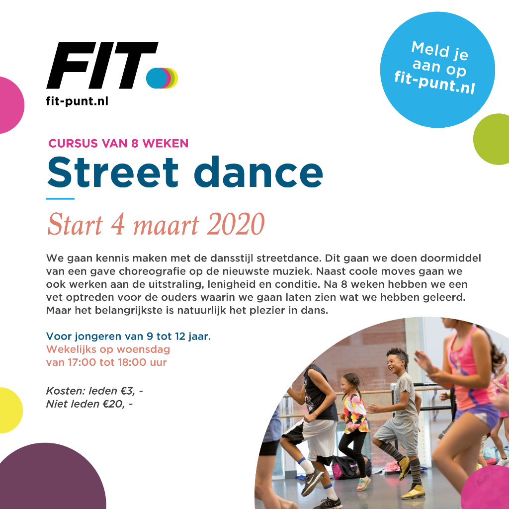 Fitpunt streetdance