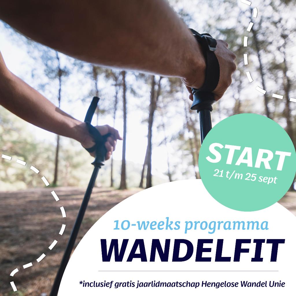 Wandel je Fitness start 21 september 2020